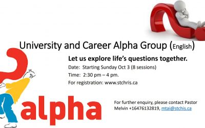 University and Career Alpha Group